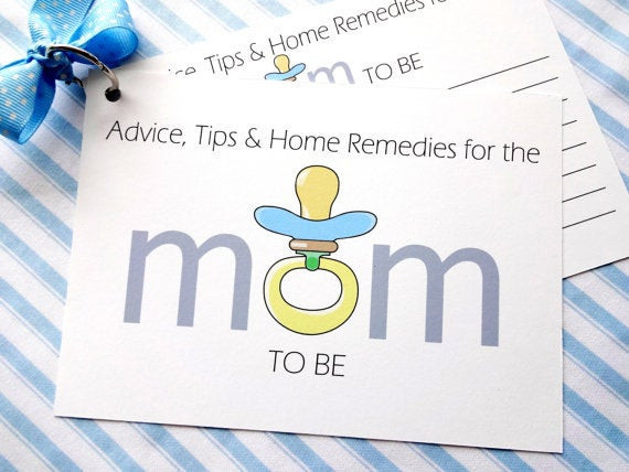 Best ideas about DIY Baby Shower Card . Save or Pin DIY Baby Shower Advice Printable Cards for a Baby Boy Now.