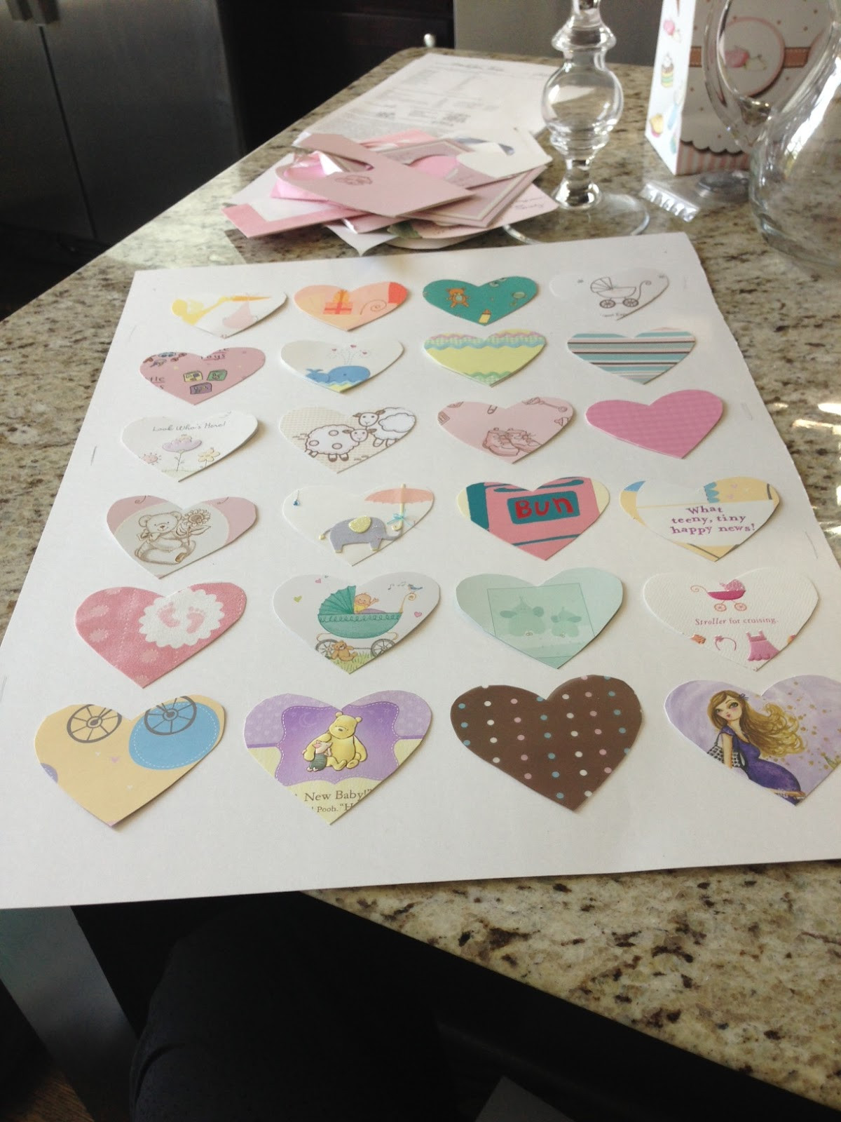 Best ideas about DIY Baby Shower Card . Save or Pin Veronika s Blushing DIY Transform Your Baby Shower Cards Now.