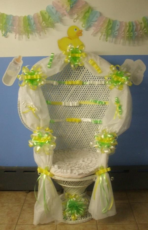 Best ideas about DIY Baby Shower Chair . Save or Pin cutiebabes baby shower chairs 06 babyshower Now.