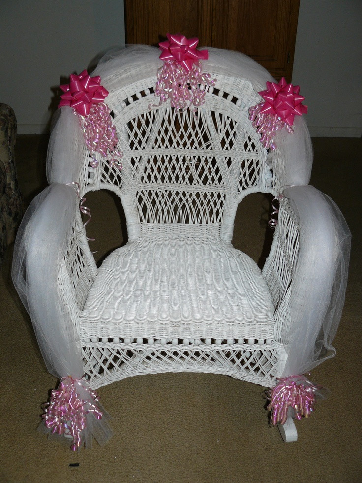 Best ideas about DIY Baby Shower Chair . Save or Pin Baby Shower Chair for the Mother to Be Now.