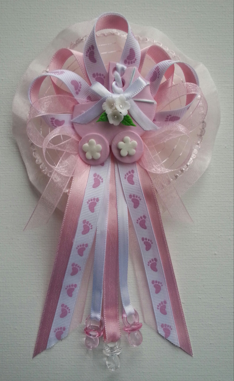 Best ideas about DIY Baby Shower Corsage . Save or Pin Pink Baby Shower Mommy corsage with carriage by Now.