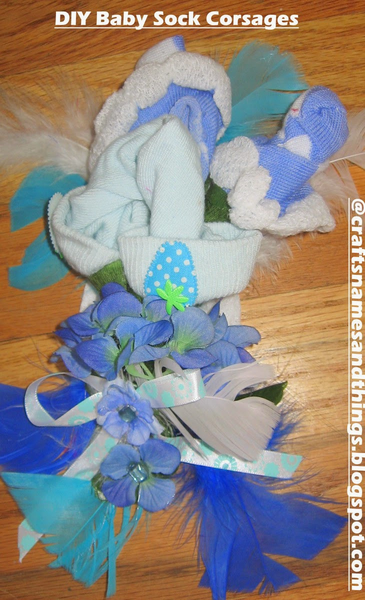 Best ideas about DIY Baby Shower Corsage . Save or Pin Crafts Names And Things DIY Baby Shower Gifts DIY Now.