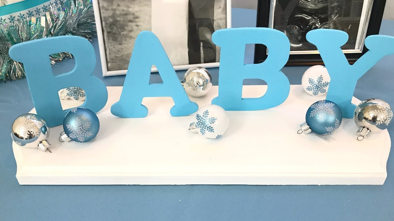 Best ideas about DIY Baby Shower Decorations For Boys . Save or Pin Baby shower DIY decor BABY BOY Now.