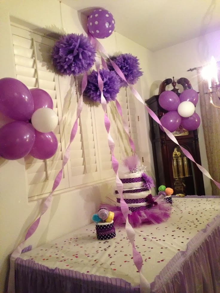 Best ideas about DIY Baby Shower Decorations For Girl . Save or Pin Diy Baby Shower Decorations Now.