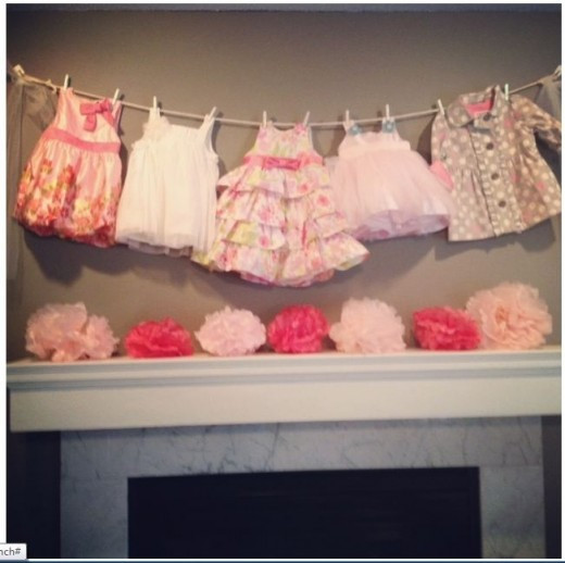 Best ideas about DIY Baby Shower Decorations For Girl . Save or Pin DIY Baby Shower Ideas for Girls Now.