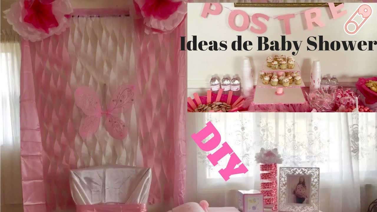 Best ideas about DIY Baby Shower Decorations For Girl . Save or Pin Baby shower ideas DIY decorations for a baby girl ideas Now.