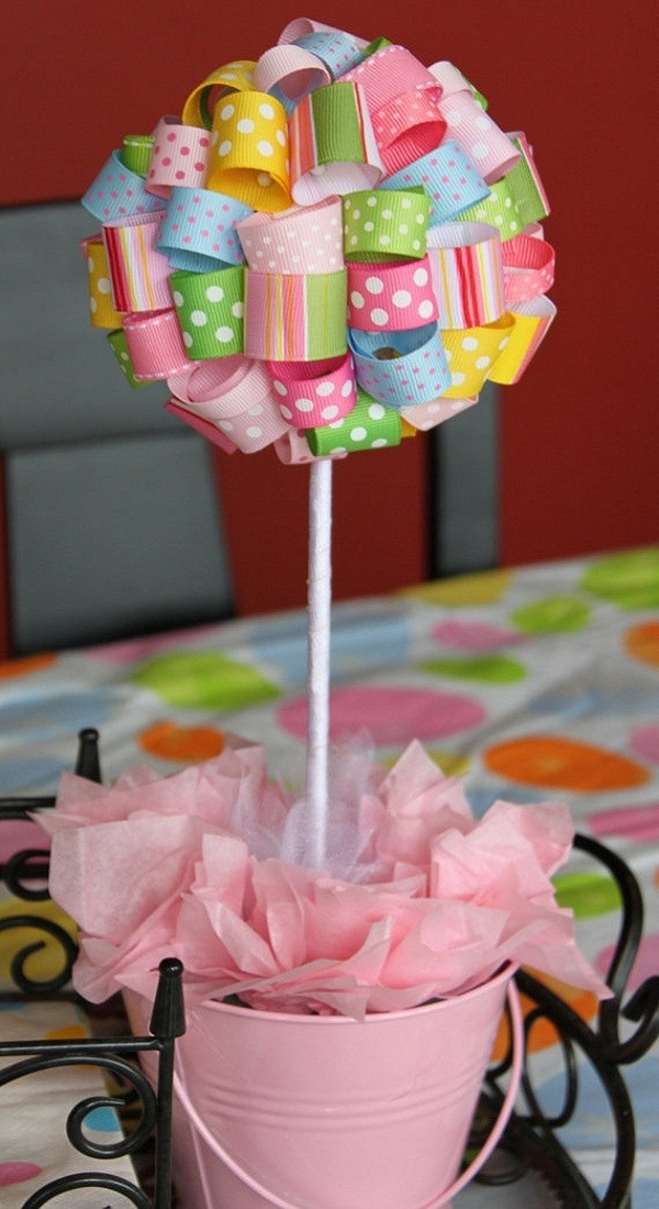 Best ideas about DIY Baby Shower Decorations For Girl . Save or Pin Baby shower ideas – theme and decoration tips Now.
