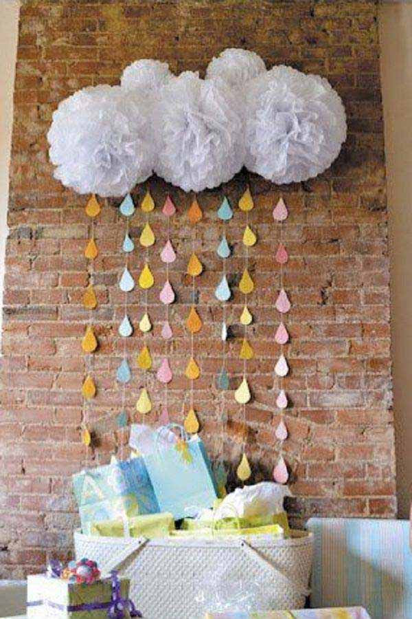 Best ideas about DIY Baby Shower Decorations Ideas . Save or Pin 22 Cute & Low Cost DIY Decorating Ideas for Baby Shower Party Now.