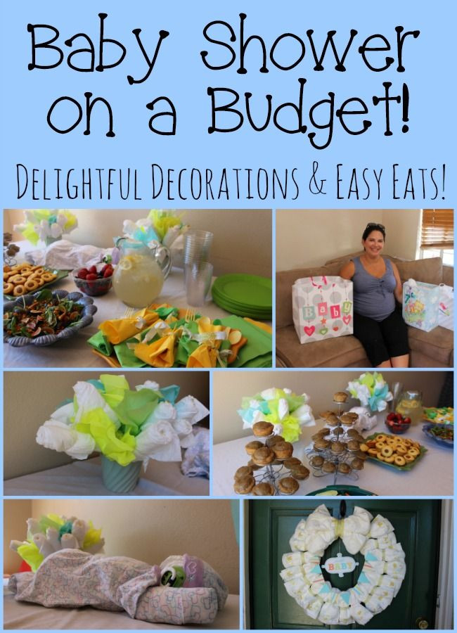 Best ideas about DIY Baby Shower Decorations On A Budget . Save or Pin Creating a baby shower on a bud with affordable diaper Now.