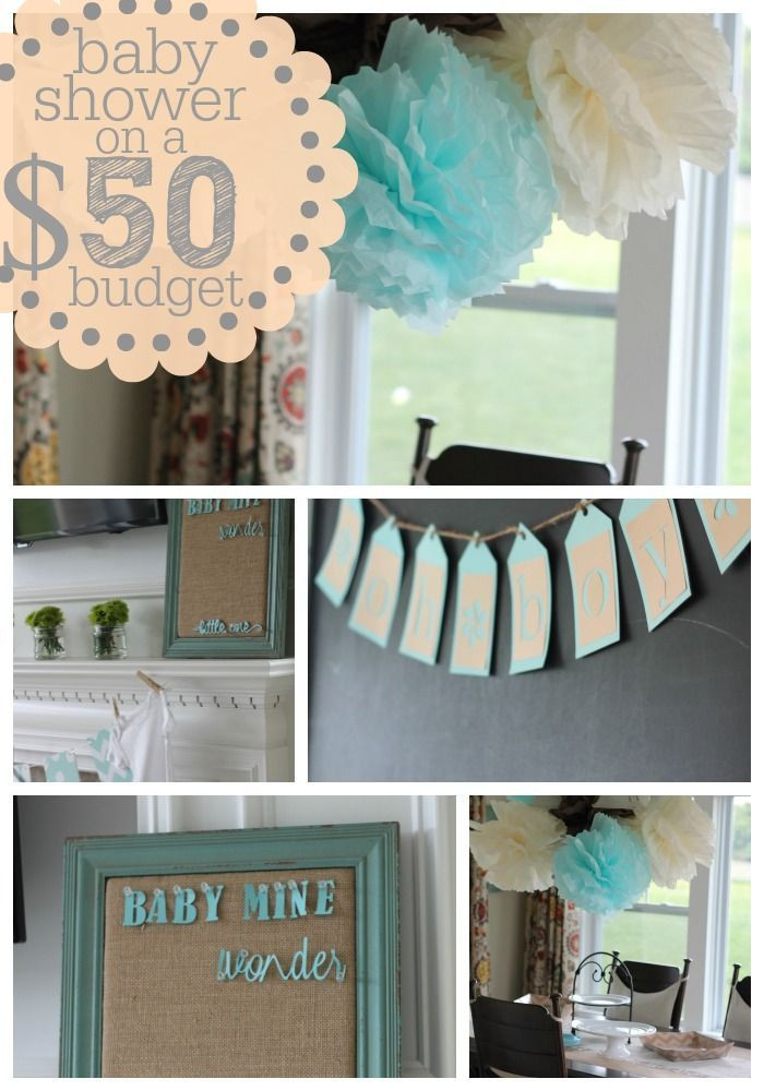 Best ideas about DIY Baby Shower Decorations On A Budget . Save or Pin Best 25 Baby shower ideas on a bud ideas on Pinterest Now.