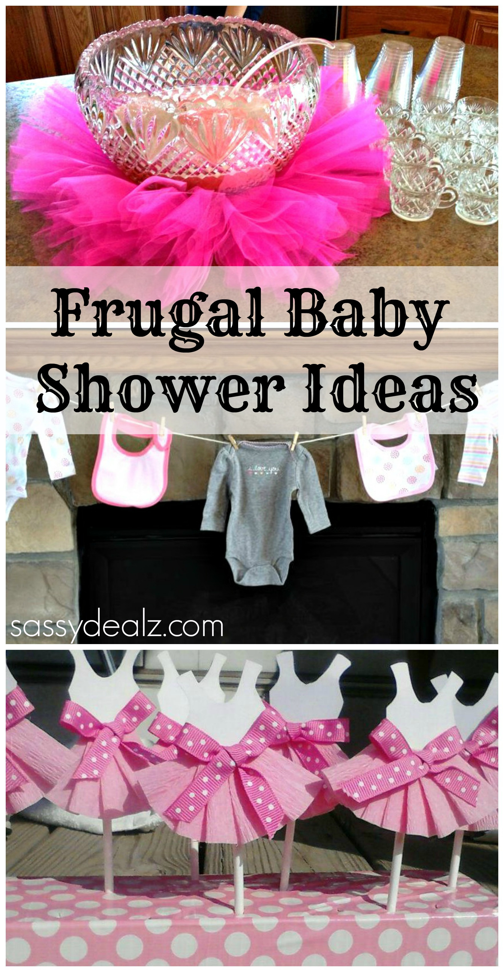 Best ideas about DIY Baby Shower Decorations On A Budget . Save or Pin Baby Girl Shower Ideas on a Bud Crafty Morning Now.