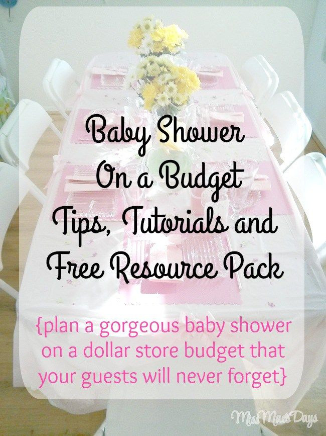 Best ideas about DIY Baby Shower Decorations On A Budget . Save or Pin Baby Shower on a Bud by Shopping at the Dollar Store Now.