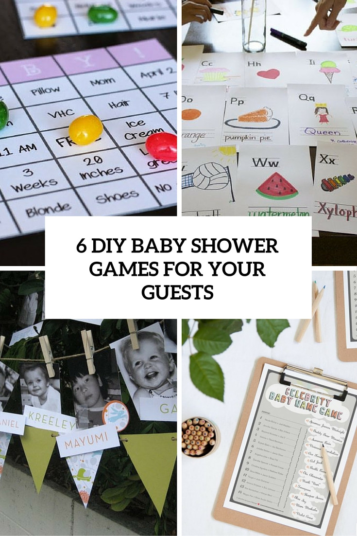 Best ideas about DIY Baby Shower Games . Save or Pin 6 Simple DIY Baby Shower Games For Your Guests Shelterness Now.