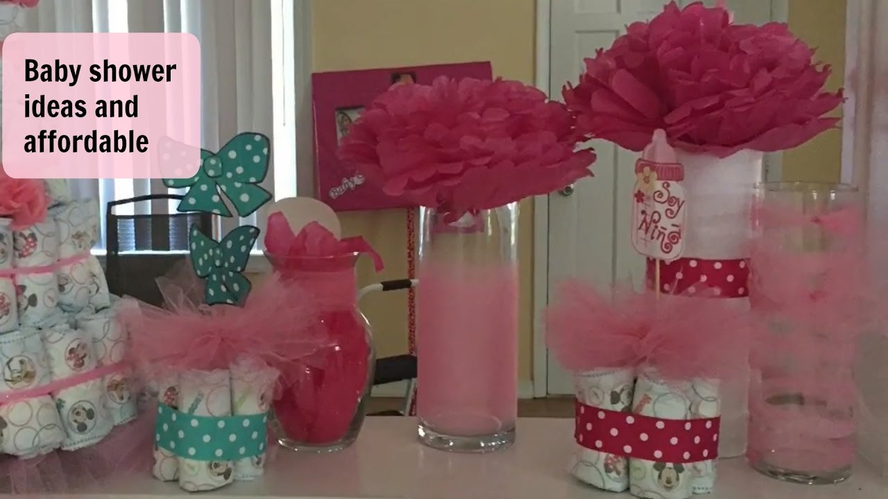 Best ideas about DIY Baby Shower Ideas On A Budget . Save or Pin Dollar Tree DIY Baby Shower decor on a bud Now.