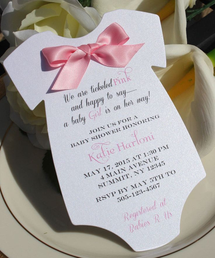 Best ideas about DIY Baby Shower Invitation . Save or Pin Best 25 Baby shower invitations ideas on Pinterest Now.