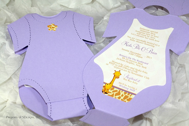 Best ideas about DIY Baby Shower Invitation . Save or Pin Top 10 Creative DIY Baby Shower Invitation Ideas Now.