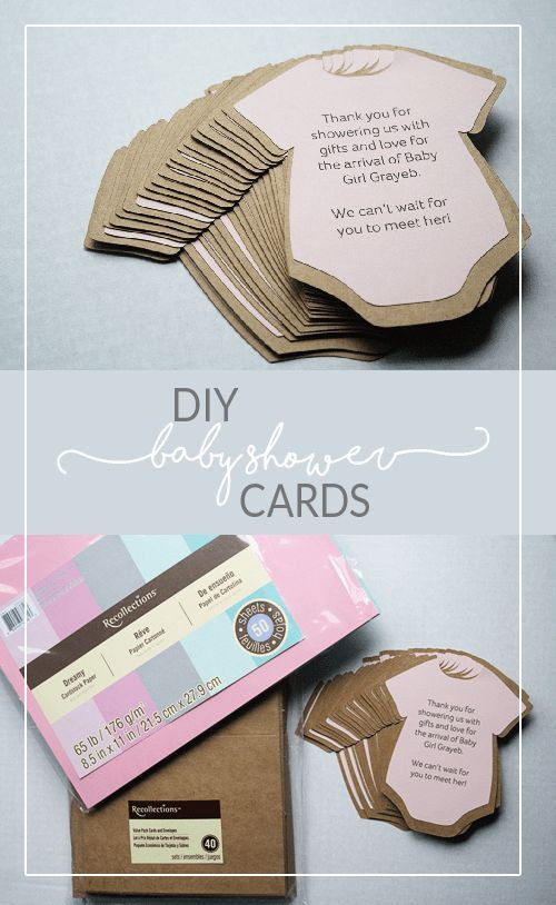 Best ideas about DIY Baby Shower Invitation . Save or Pin DIY Baby Shower Invitations or Thank You Cards Now.