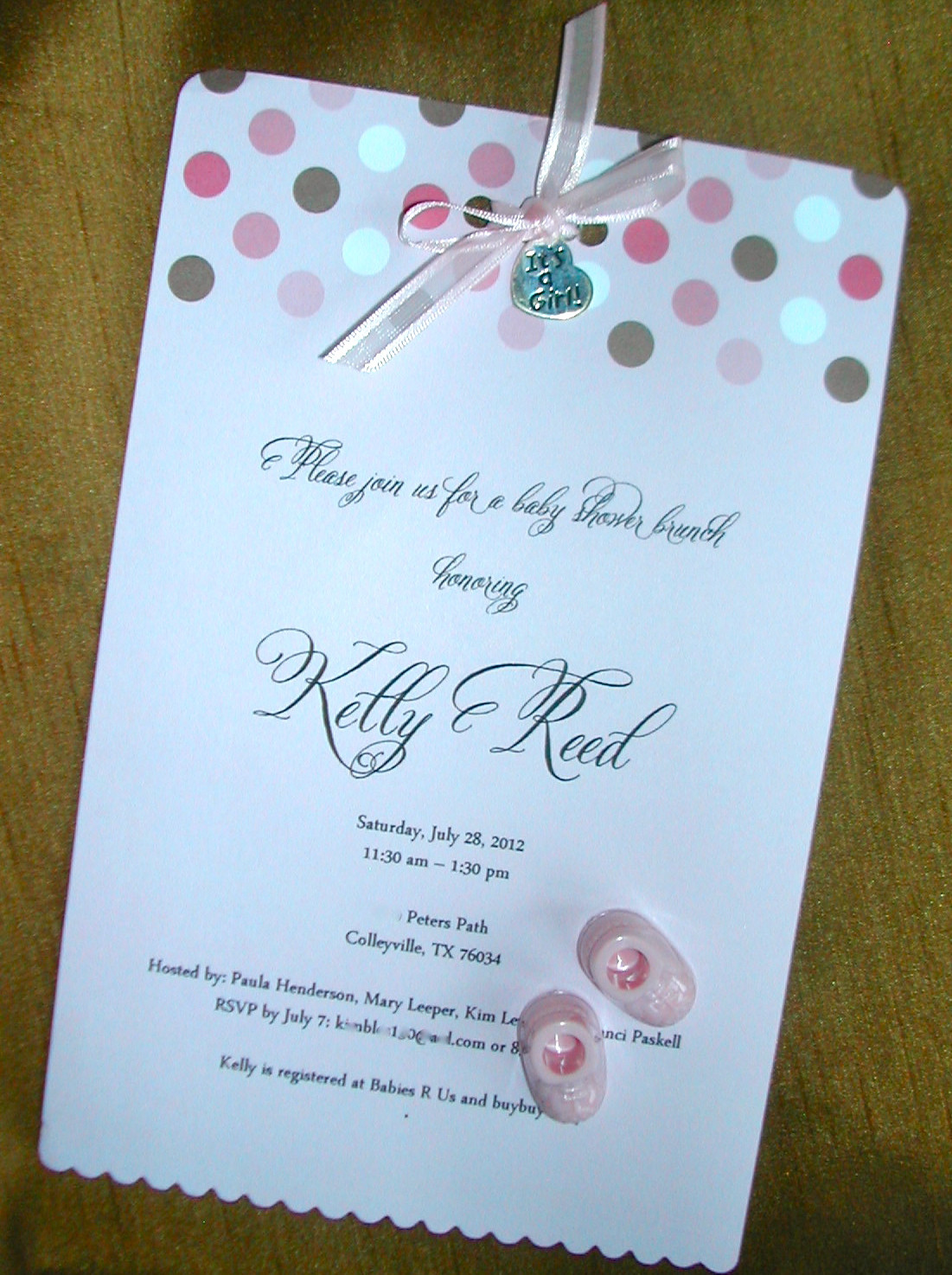 Best ideas about DIY Baby Shower Invitation . Save or Pin DIY Stationery Now.