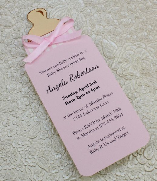 Best ideas about DIY Baby Shower Invitation . Save or Pin 25 best ideas about Baby Shower Invitations on Pinterest Now.