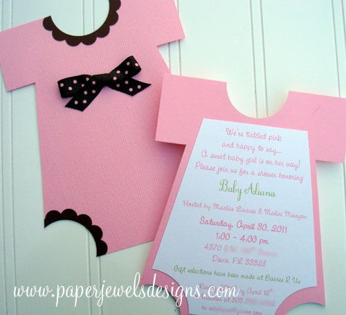 Best ideas about DIY Baby Shower Invitation . Save or Pin Adorable DIY Baby Shower Invites Your Friends will Love to Now.
