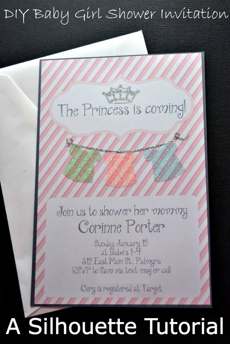 Best ideas about DIY Baby Shower Invites . Save or Pin DIY Baby Girl Shower Invitations Now.
