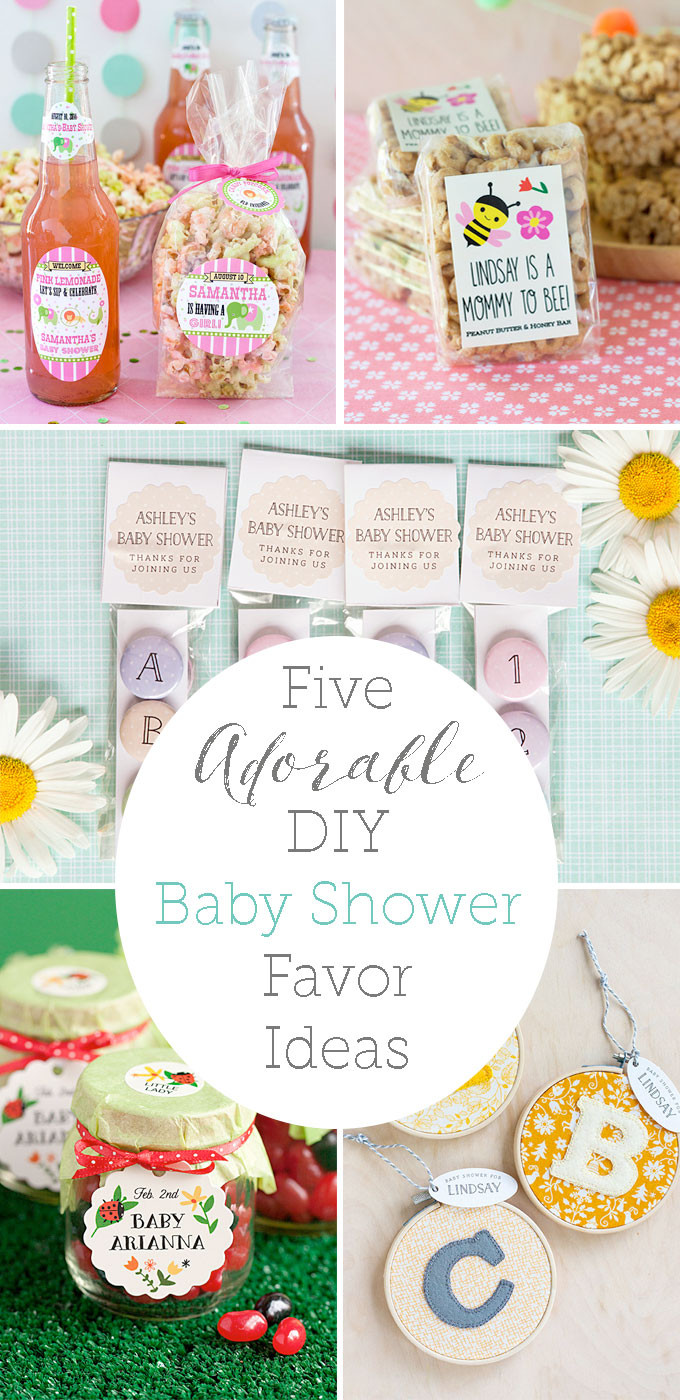 Best ideas about DIY Baby Shower Party Favors . Save or Pin 5 Baby Shower Favor Ideas Party Inspiration Now.