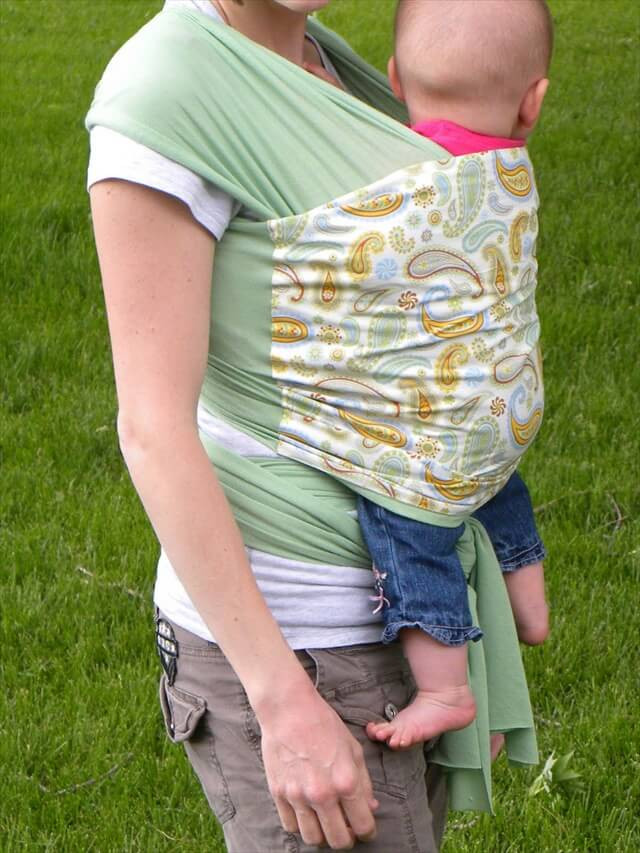 Best ideas about DIY Baby Sling Wrap . Save or Pin 11 DIY Baby Accessories Now.