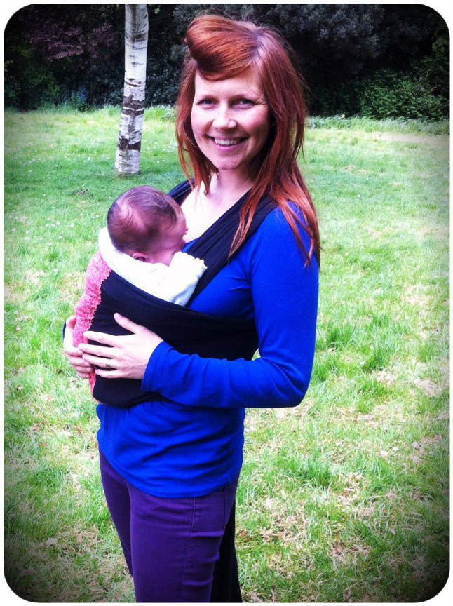 Best ideas about DIY Baby Sling Wrap . Save or Pin Babywearing Three easy and quick DIY sling tutorials Now.