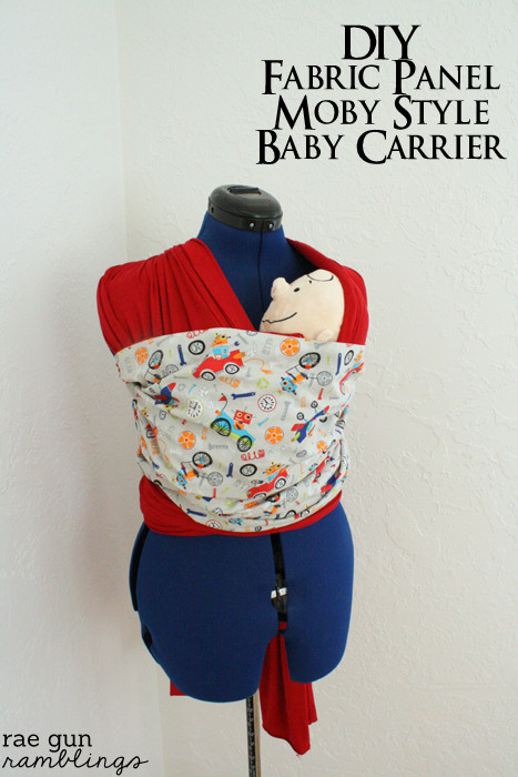 Best ideas about DIY Baby Sling Wrap . Save or Pin DIY Fabric Panel Moby Baby Carrier and Rae Gun Giveaway Now.