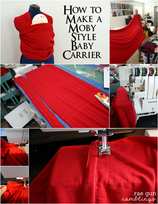 Best ideas about DIY Baby Sling Wrap . Save or Pin How to Make A Moby Wrap Baby Carrier Rae Gun Ramblings Now.