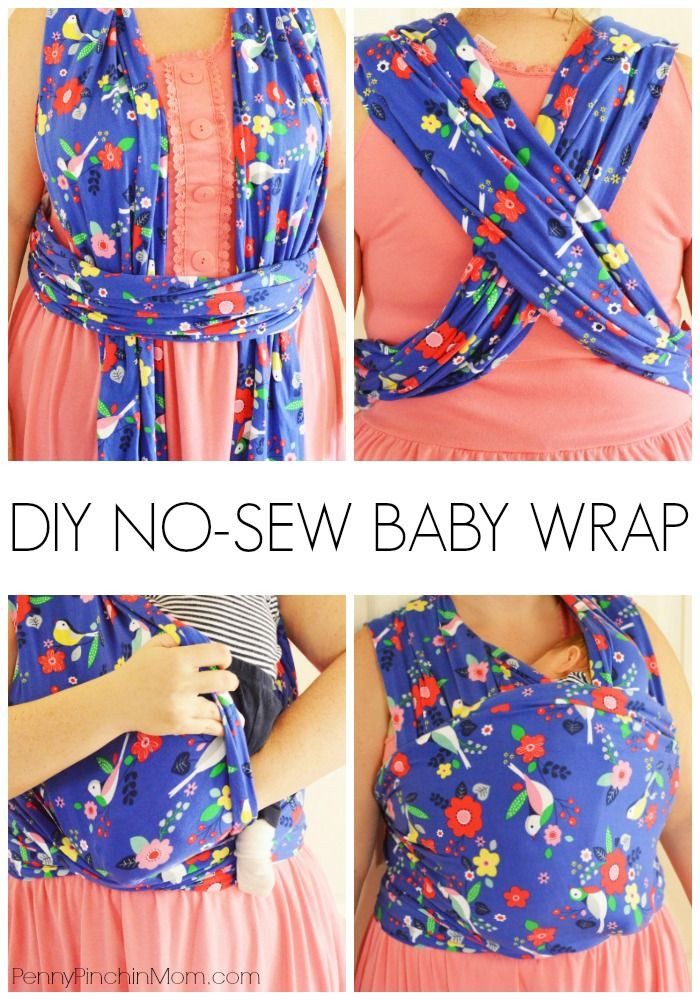 Best ideas about DIY Baby Sling Wrap . Save or Pin How to Make Your Own No Sew Moby Wrap Now.
