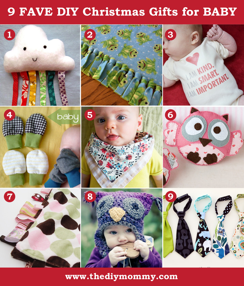 Best ideas about DIY Baby Stuff . Save or Pin A Handmade Christmas DIY Baby Gifts Now.