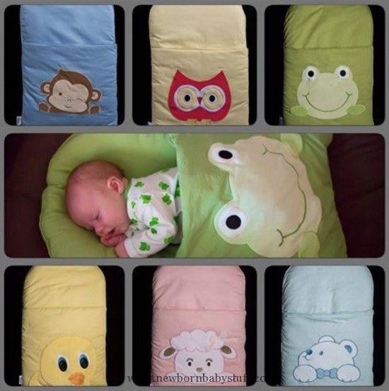 Best ideas about DIY Baby Stuff . Save or Pin Baby Accessories DIY Pillowcase Sleeping Bag for Baby Now.