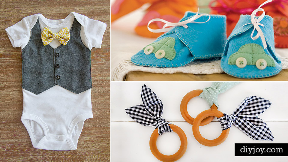 Best ideas about DIY Baby Stuff Ideas . Save or Pin 42 Fabulous DIY Baby Shower Gifts Now.