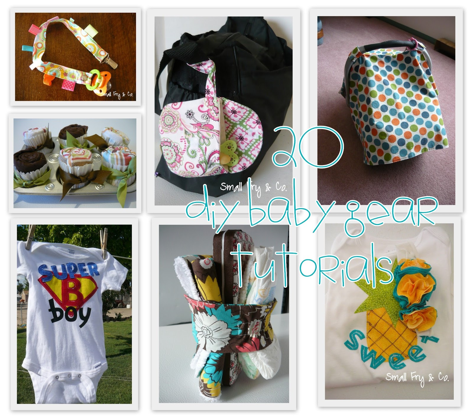 Best ideas about DIY Baby Stuff . Save or Pin Small Fry & Co 20 Great DIY Baby Gifts Now.