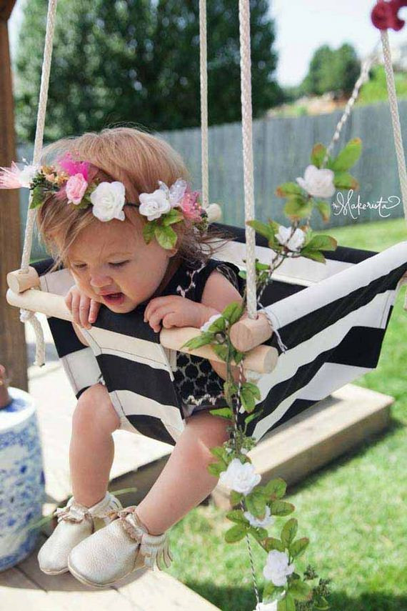 Best ideas about DIY Baby Swing . Save or Pin Amazingly DIY Patio and Garden Swings Now.