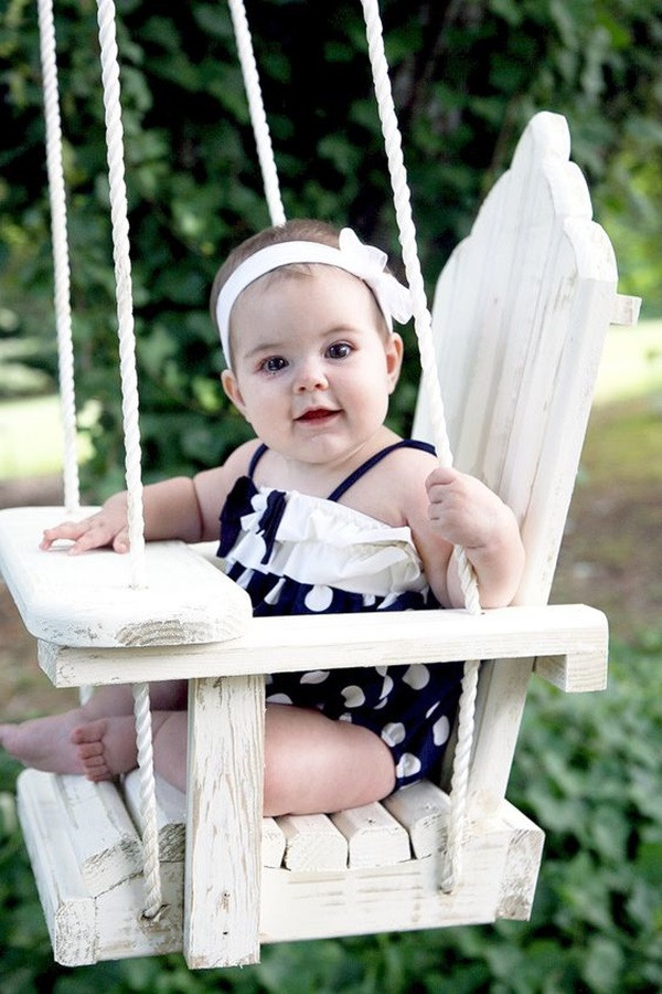 Best ideas about DIY Baby Swing . Save or Pin 40 DIY Tree Swing Ideas For More Family Time Now.
