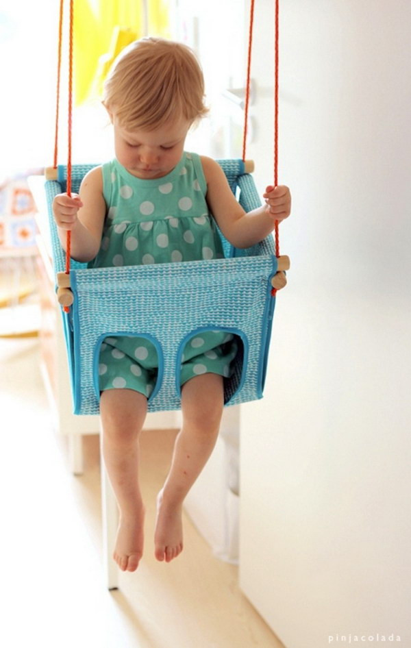 Best ideas about DIY Baby Swing . Save or Pin 60 Simple & Cute Things Gifts You Can DIY For A Baby Now.