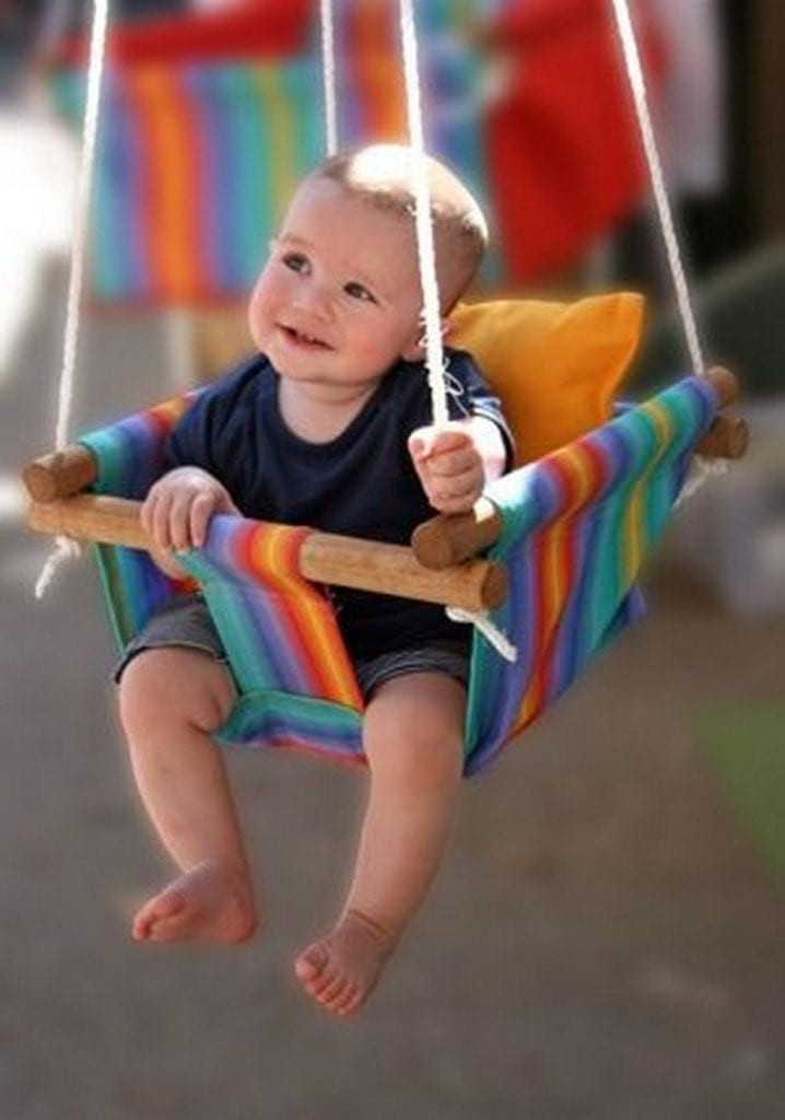 Best ideas about DIY Baby Swing . Save or Pin DIY Swing Ideas for Kids Now.