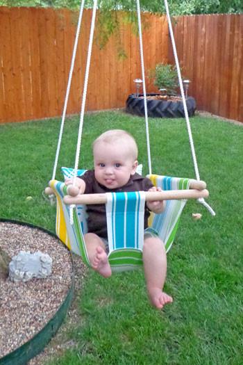 Best ideas about DIY Baby Swing . Save or Pin DIY Creative Ideas Wonderful DIY Hammock Type Baby Swing Now.