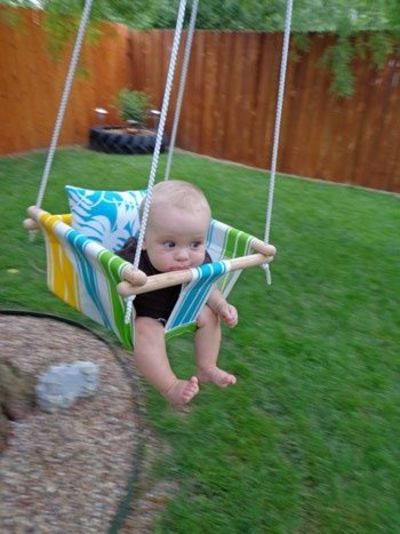 Best ideas about DIY Baby Swing . Save or Pin e Sassy Housewife DIY baby swing babies & things Now.