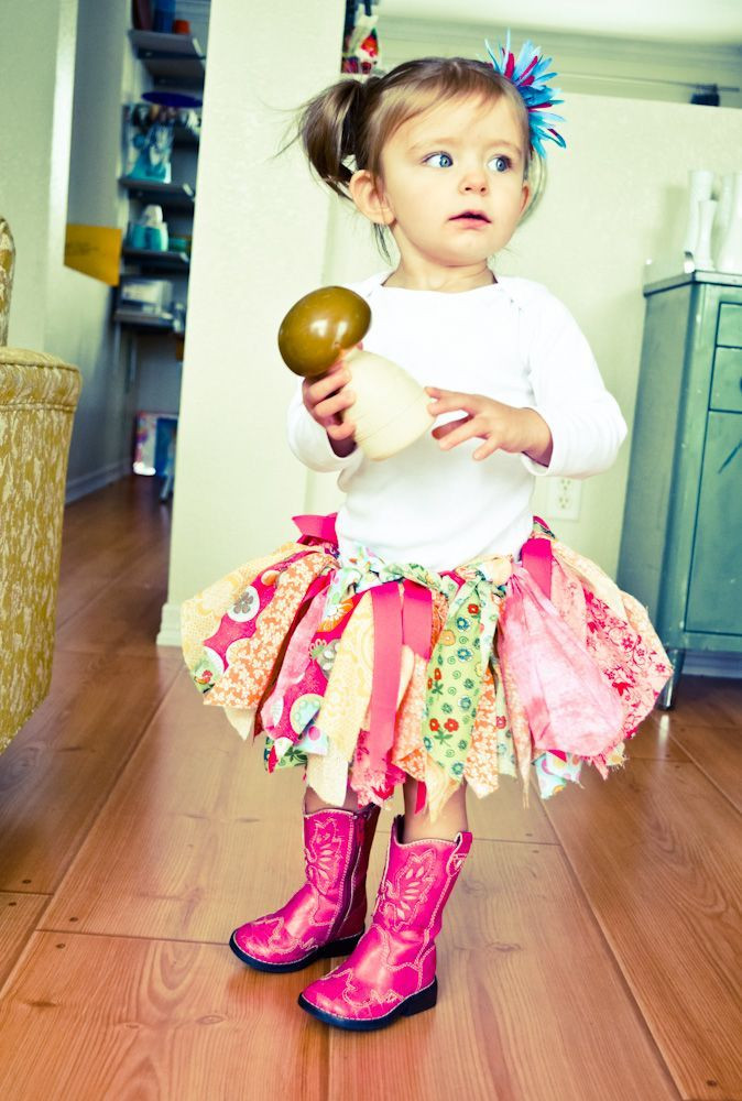 Best ideas about DIY Baby Tutu . Save or Pin DIY Fabric Tutu I made something similar for one of my Now.