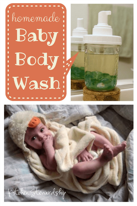 Best ideas about DIY Baby Wash . Save or Pin Homemade Baby Body Wash Now.