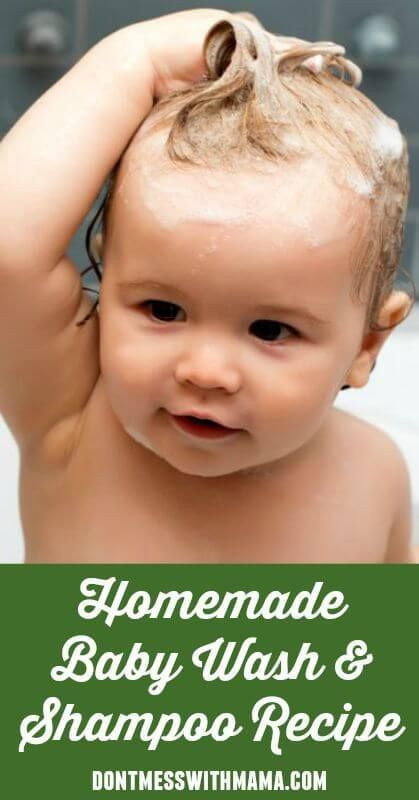 Best ideas about DIY Baby Wash . Save or Pin Natural Homemade Baby Wash and Shampoo Recipe Now.
