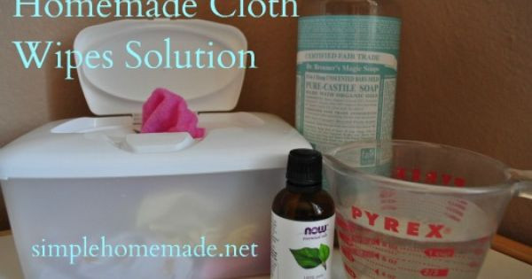 Best ideas about DIY Baby Wipes Solution . Save or Pin Using cloth wipes and homemade wipes solution Now.