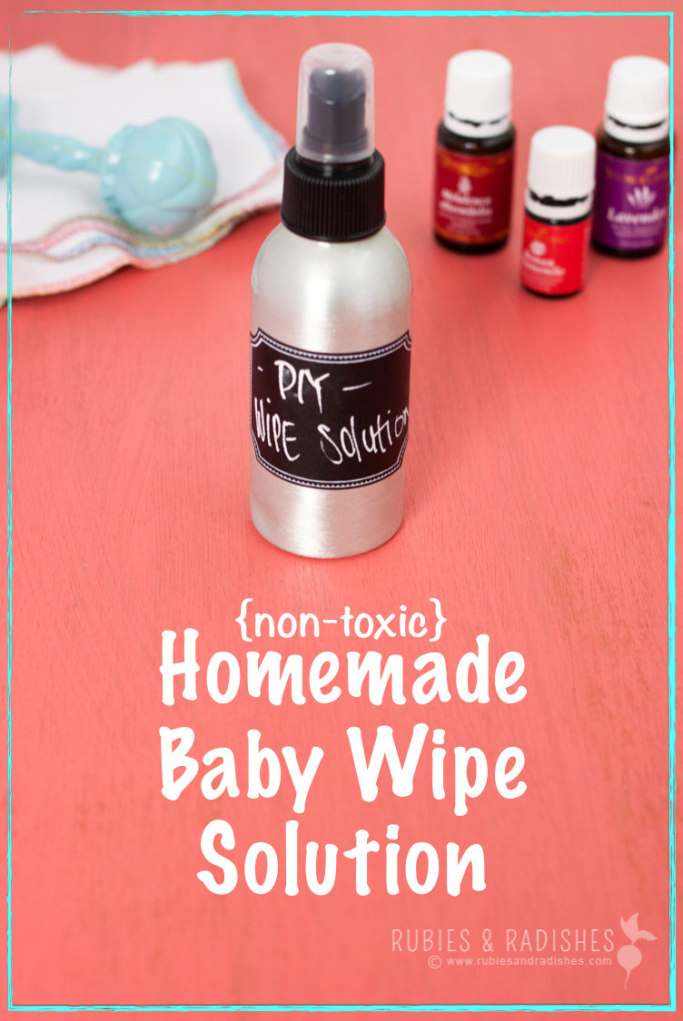 Best ideas about DIY Baby Wipes Solution . Save or Pin Homemade Baby Wipe Solution Rubies & Radishes Now.