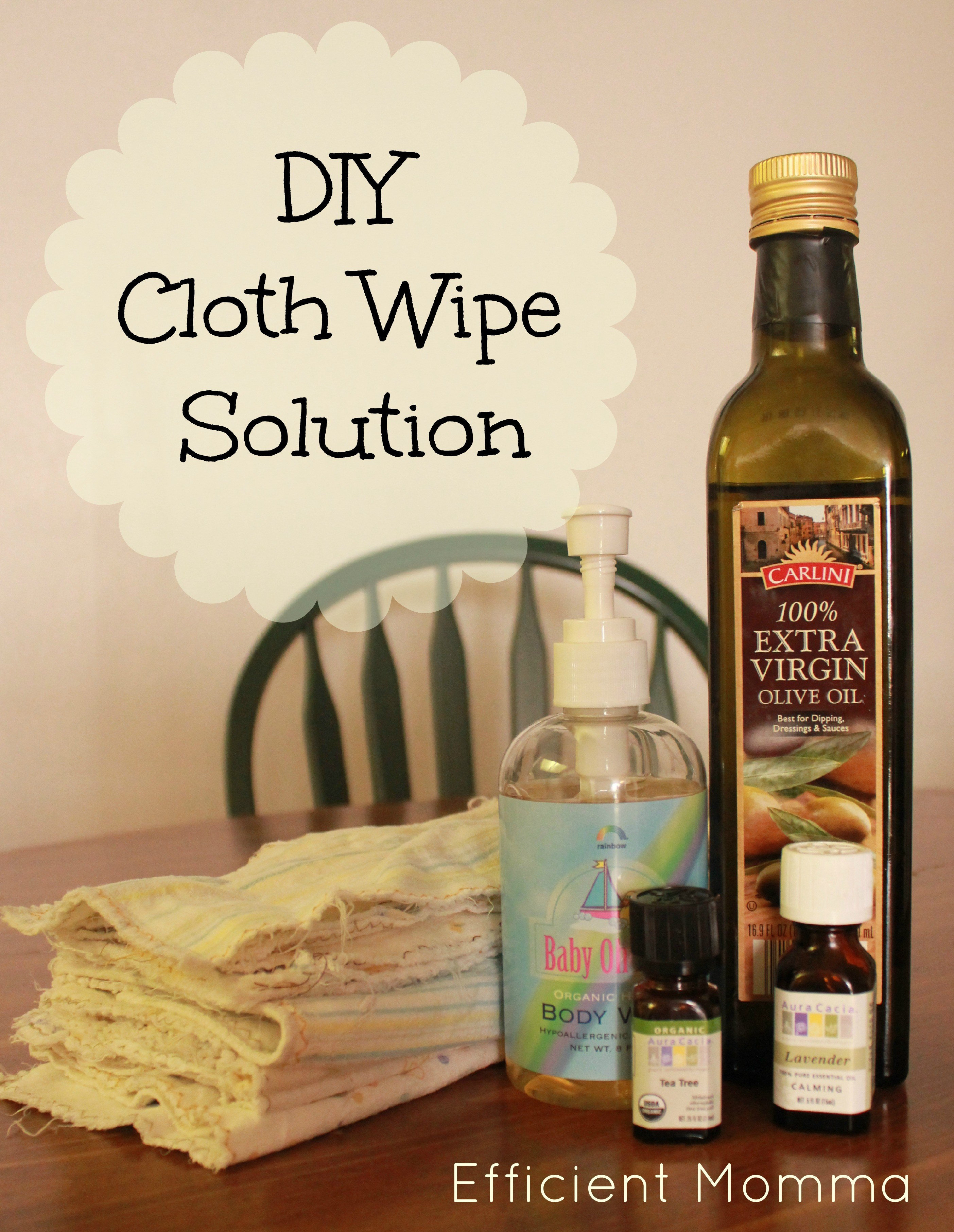 Best ideas about DIY Baby Wipes Solution . Save or Pin DIY Cloth Wipe Solution Efficient Momma Now.