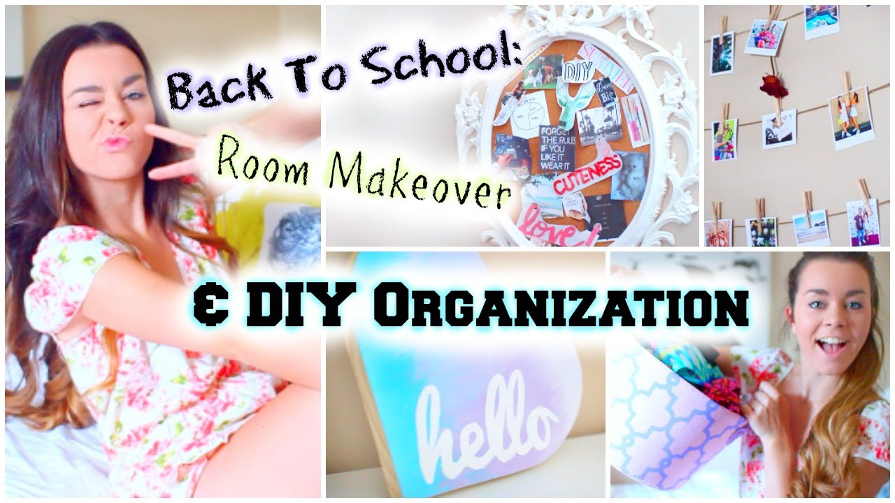 Best ideas about DIY Back To School Organization . Save or Pin Back to School Room Makeover DIY Organization & Decor Now.