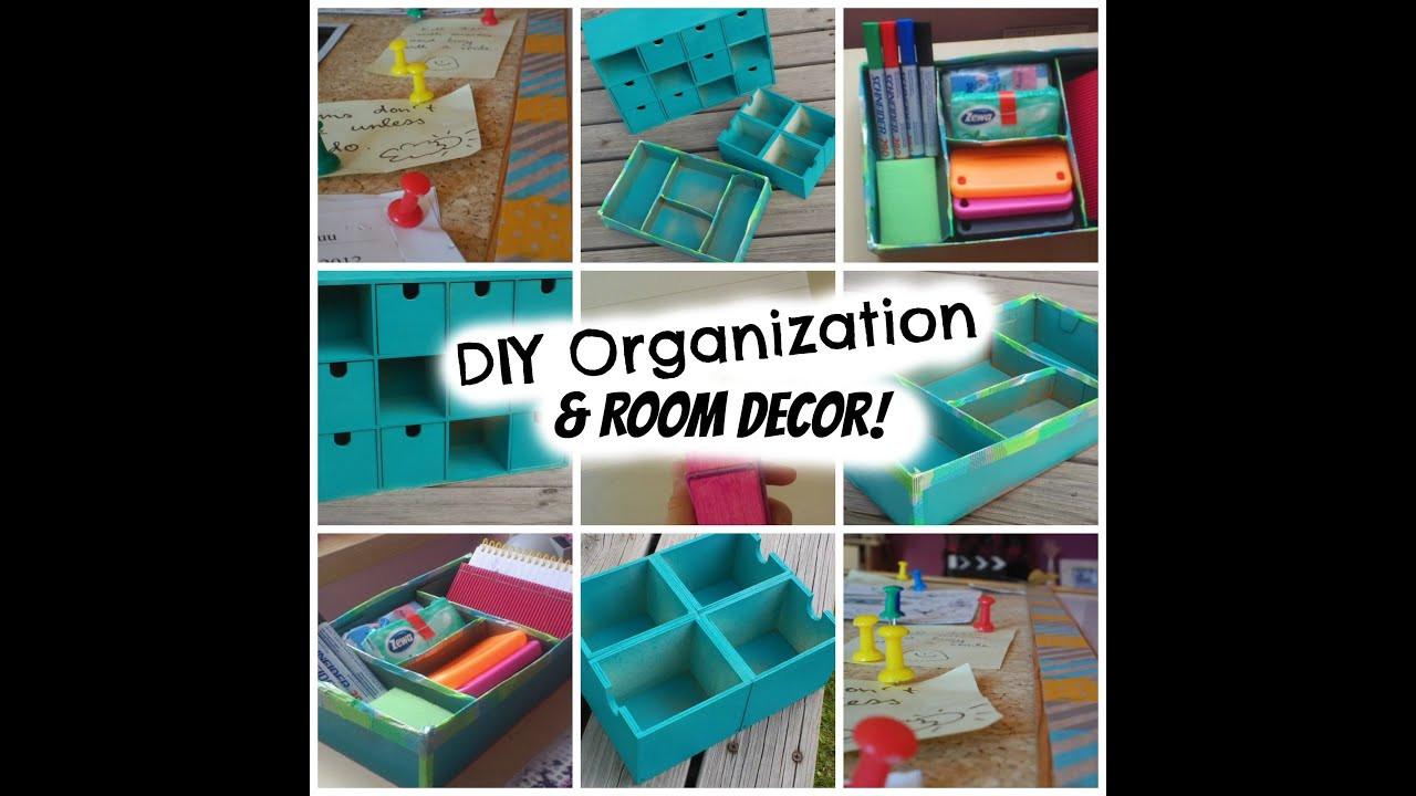 Best ideas about DIY Back To School Organization . Save or Pin Back to School DIY Organization & Room decor Super cheap Now.