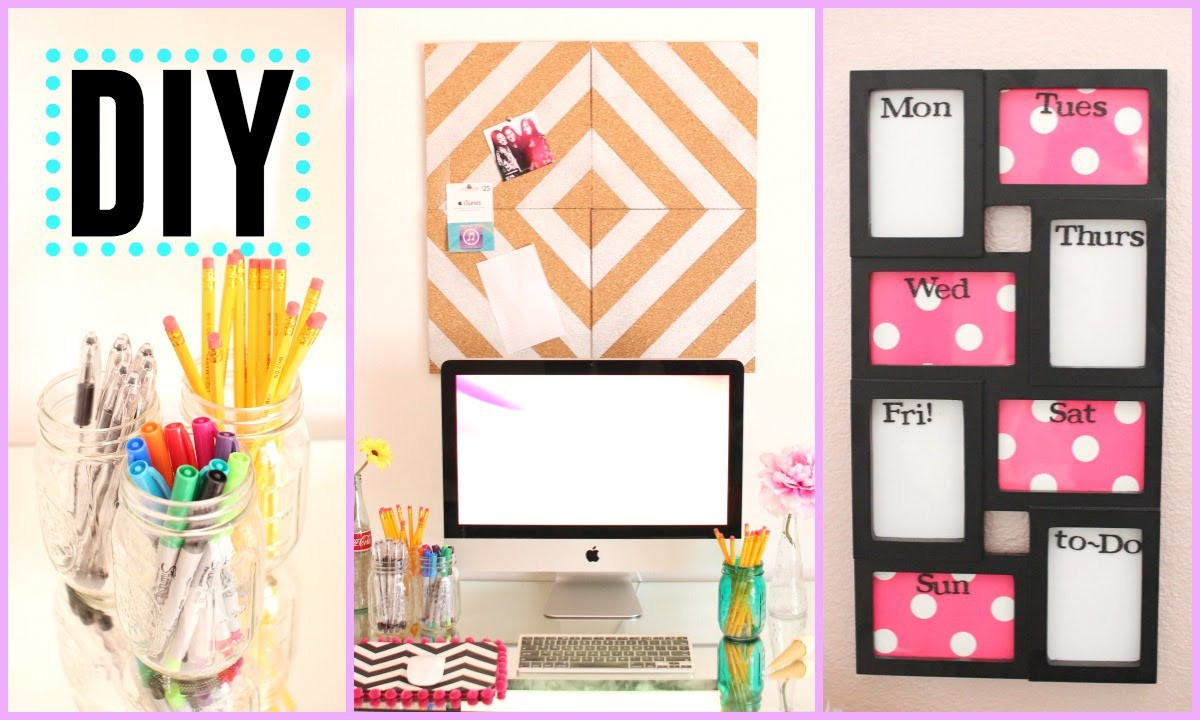 Best ideas about DIY Back To School Organization . Save or Pin DIY Back to School Room Decor & Organization Now.